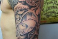 10 Attractive Religious Half Sleeve Tattoo Ideas with measurements 768 X 1024