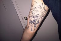 10 Inspirational Guardian Angel Arm Tattoo Designs Grab Your Tattoo with regard to measurements 2048 X 1536