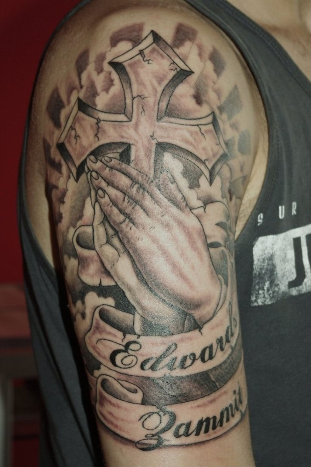 10 Lovely Tattoos Ideas For Men Upper Arm within size 1024 X 1538