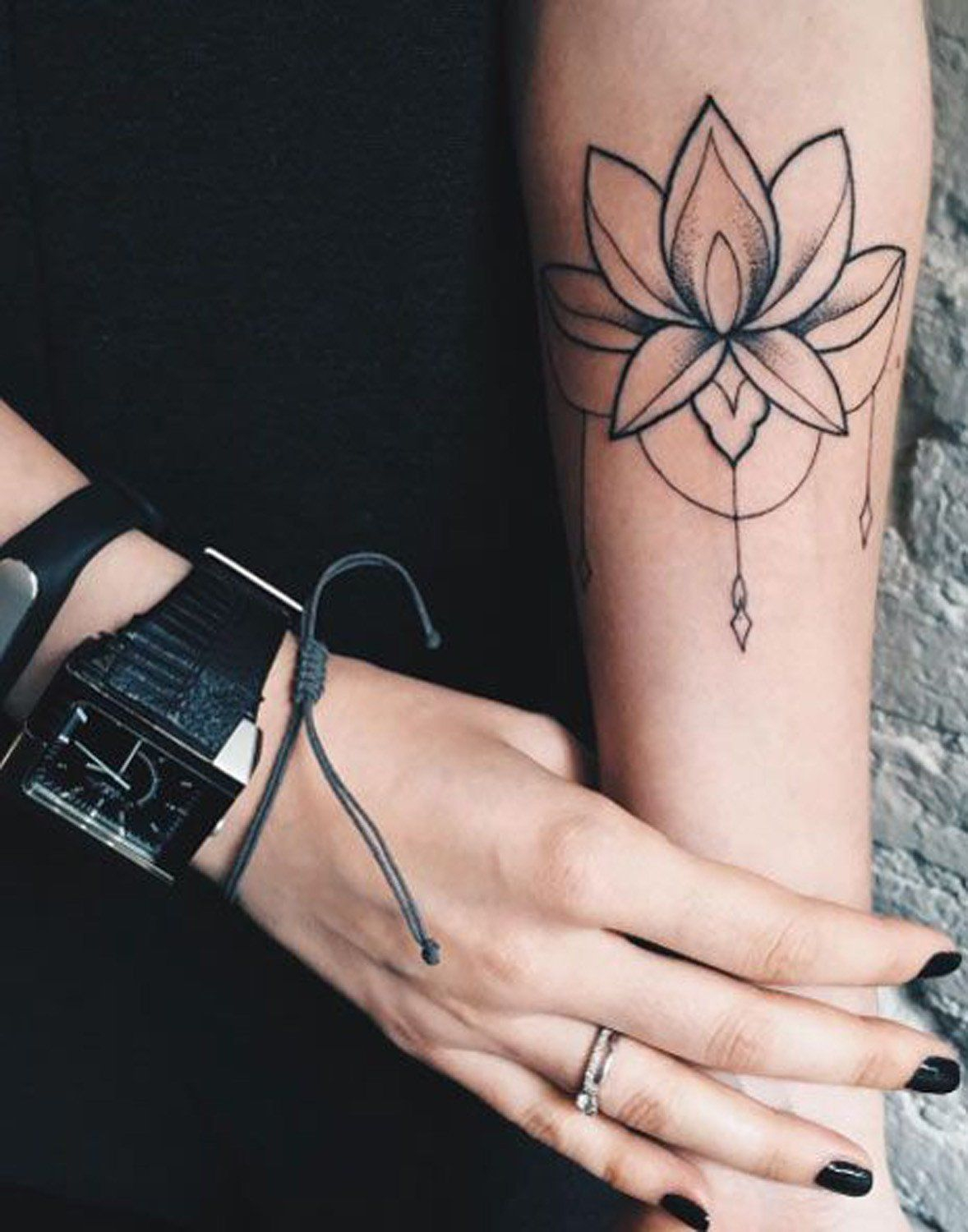 100 Most Popular Lotus Tattoos Ideas For Women Tattoos in size 1178 X 1500