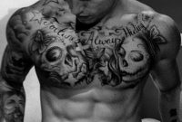 101 Best Chest Tattoos For Men intended for size 767 X 1069