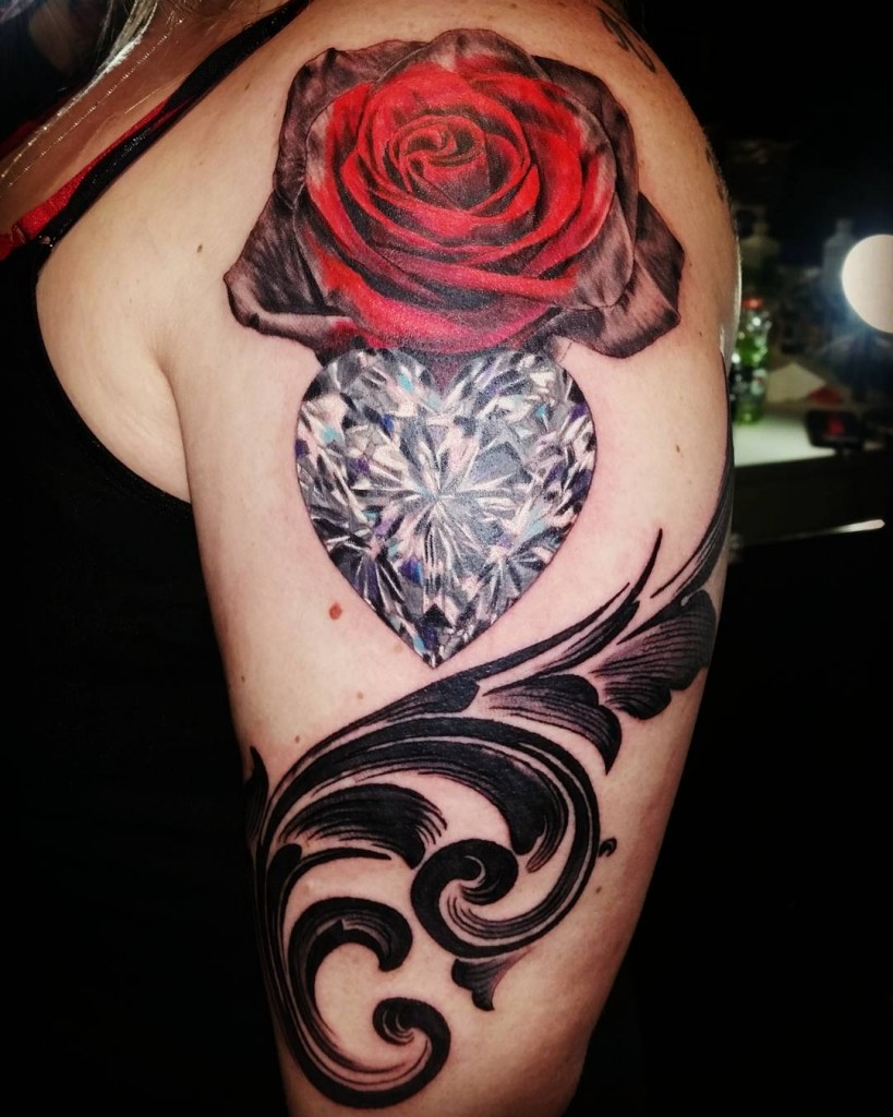 140 Beautiful Shoulder Tattoo Designs Ideas For Men And Women with proportions 819 X 1024