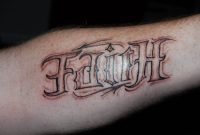 16 Word Tattoos On Forearm pertaining to proportions 1600 X 1061