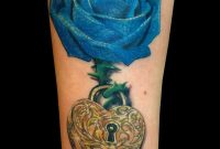 18 Beautiful Blue Rose Flowers Tattoo Pictures intended for sizing 800 X 1000