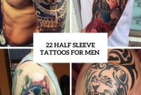 22 Half Sleeve Tattoo Ideas For Men Styleoholic within dimensions 775 X 1096