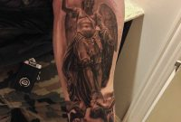 24 Archangel Michael Tattoos On Forearm intended for measurements 768 X 1024