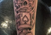 27 Gambling Skull Tattoos inside size 768 X 1024