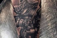 27 Samurai Forearm Tattoos Designs Ideas in dimensions 900 X 1276