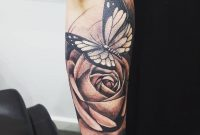 28 Awesome Butterfly Tattoos With Flowers That Nobody Will Tell You inside proportions 1080 X 1101