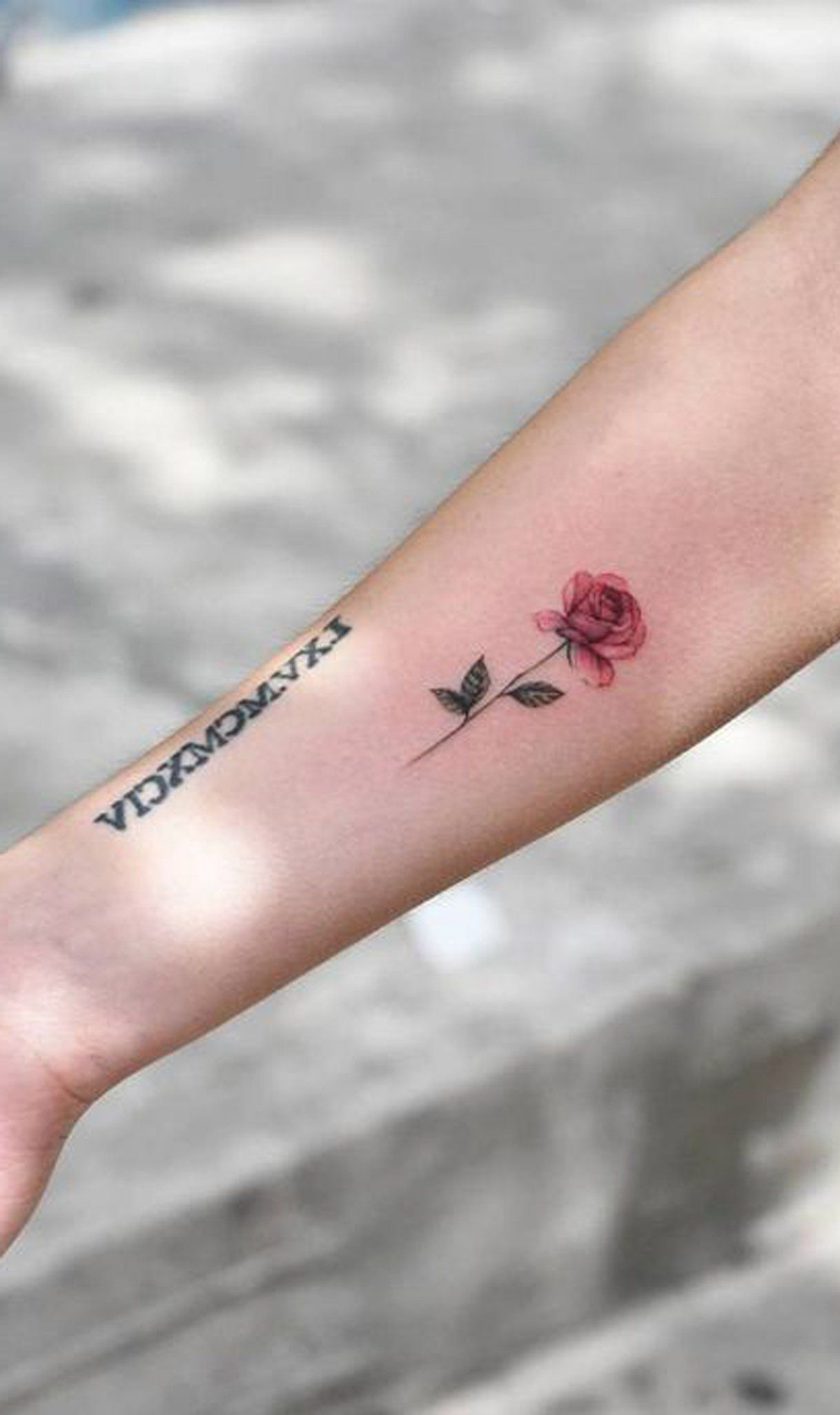 30 Simple And Small Flower Tattoos Ideas For Women Tatoos within sizing 1217 X 2048