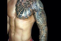 32 Amazing Tribal Sleeve Tattoos pertaining to measurements 1252 X 1252