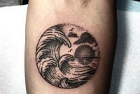 35 Cool Wave Tattoos inside measurements 1600 X 1553