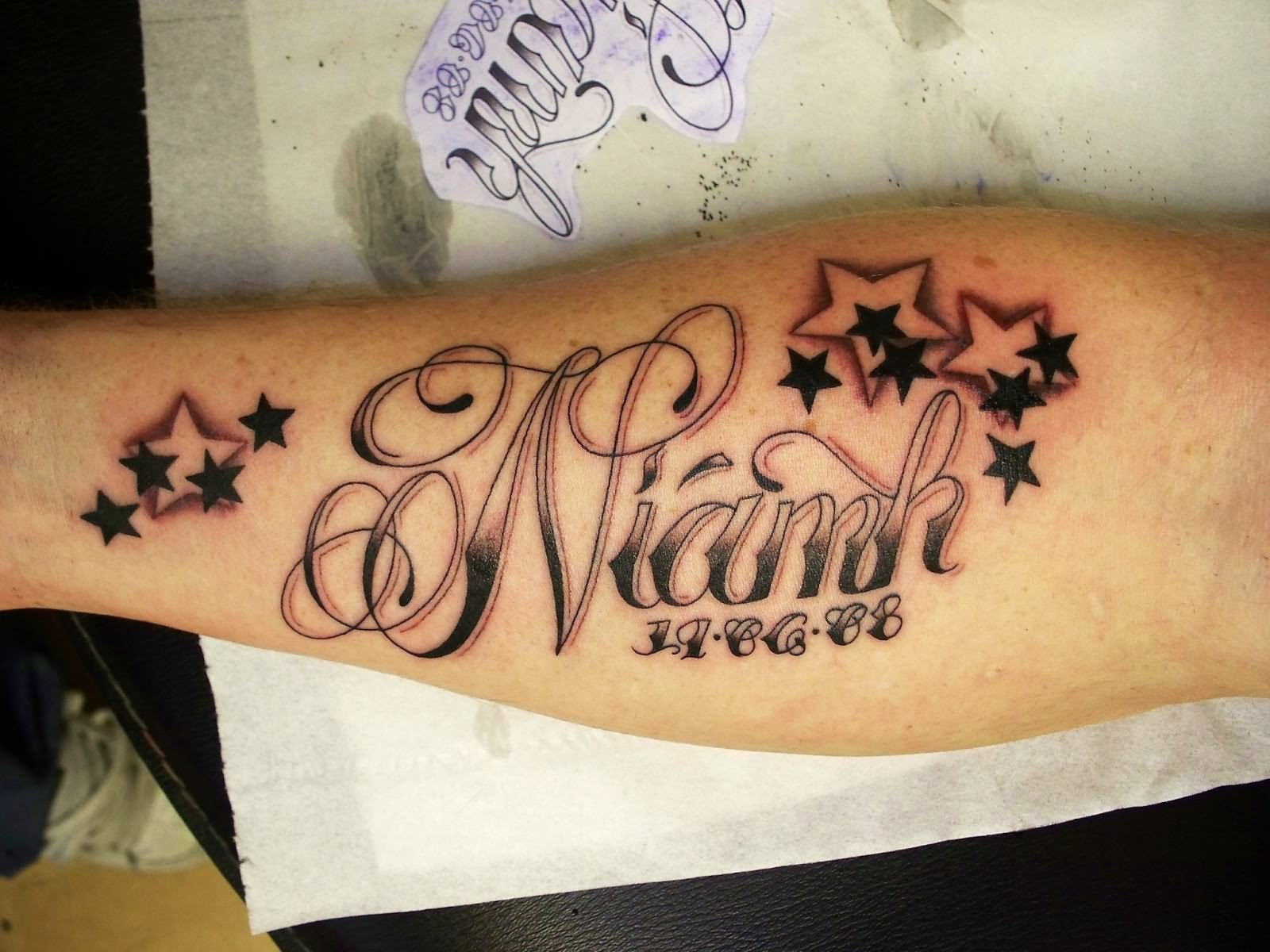 37 Forearm Name Tattoos inside size 1600 X 1200