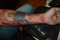 3d Jesus Cross Tattoo On Left Forearm for sizing 2560 X 1920