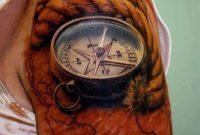 3d Sehr Realistischer Natrlich Aussehender Farbiger Kompass Mit for measurements 800 X 1050