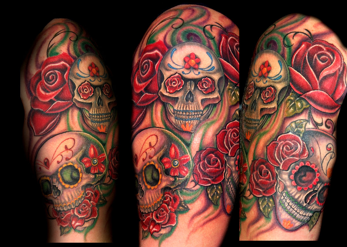 40 Arm Skull Tattoos intended for size 1200 X 857