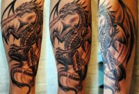 44 Gothic Dragon Tattoos regarding measurements 1024 X 866