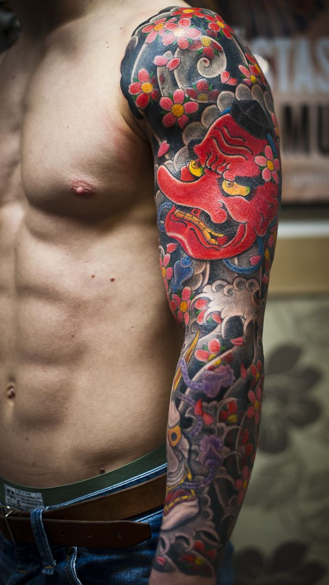 47 Sleeve Tattoos For Men Design Ideas For Guys pertaining to sizing 676 X 1200