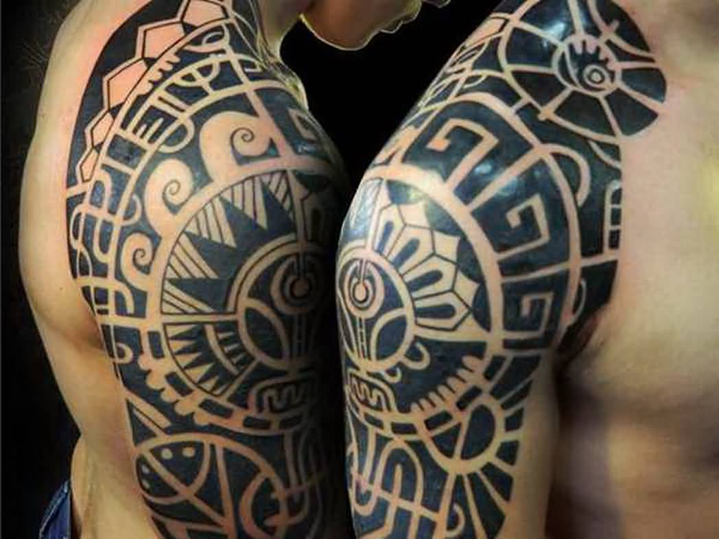 49 Latest Mayan Tattoos with regard to size 1048 X 786