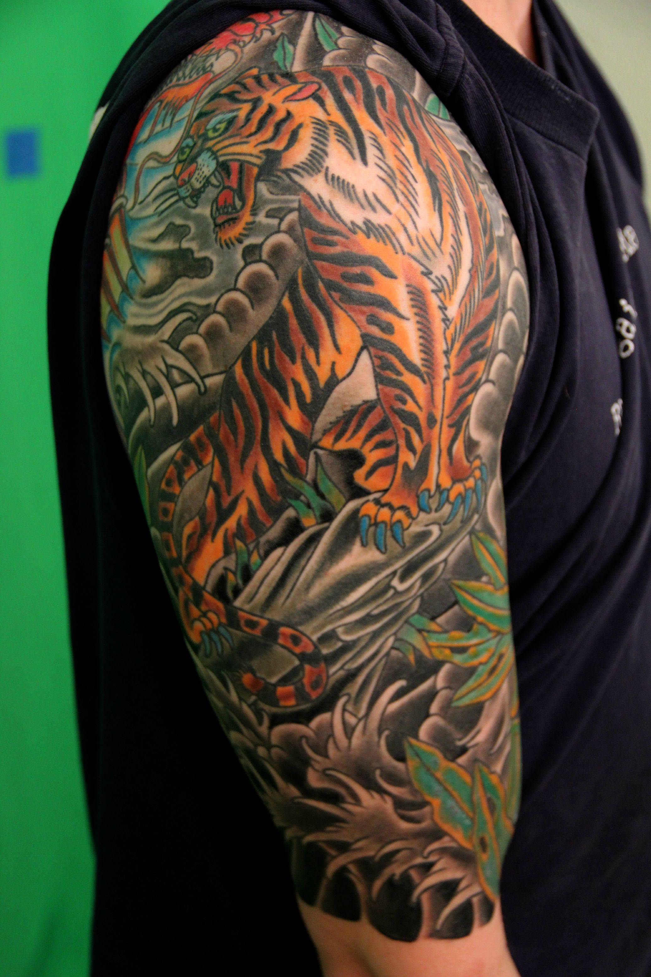 50 Half Sleeve Tattoos For Passionate People within measurements 2073 X 3110