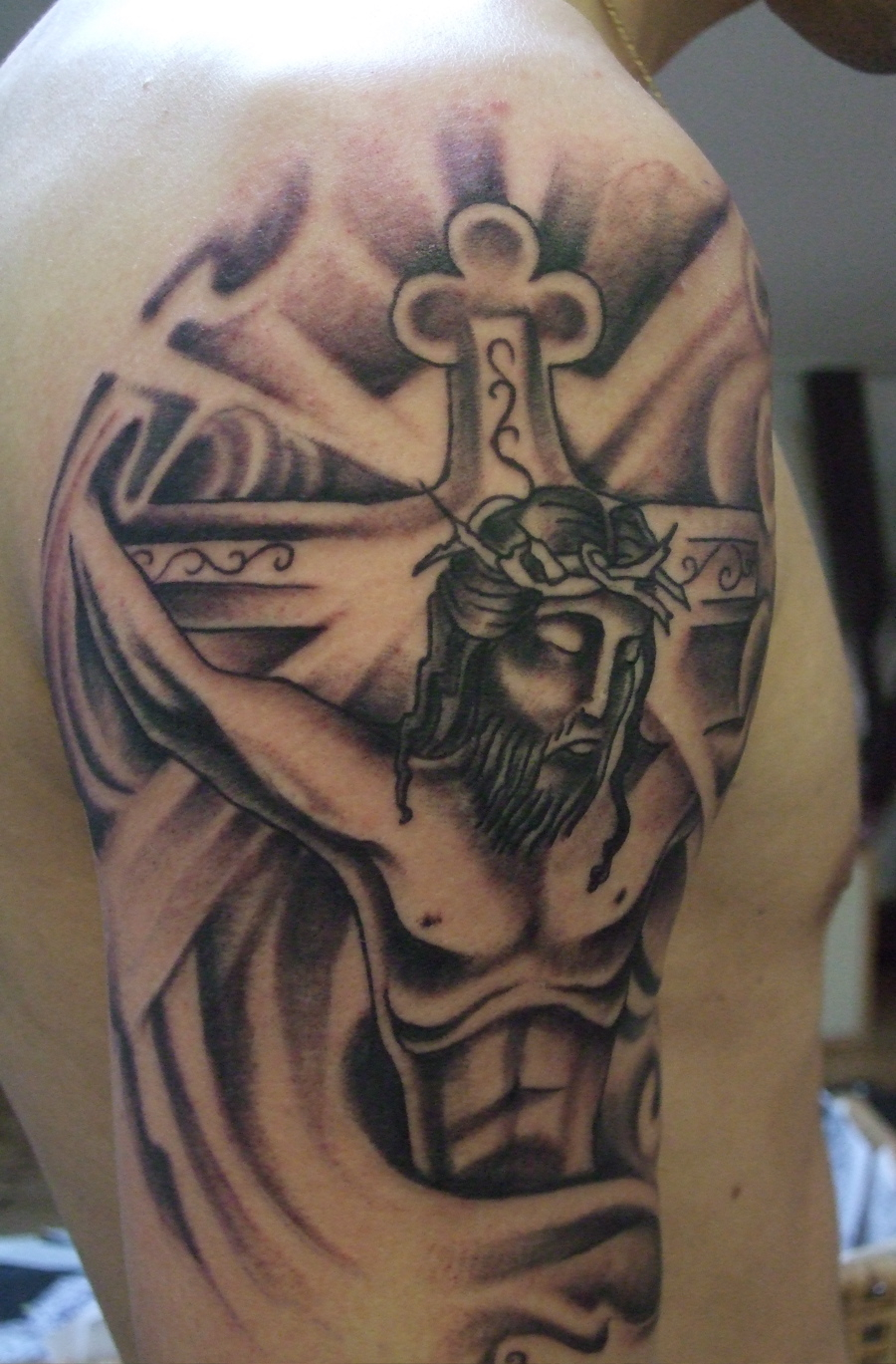 50 Jesus Tattoos For The Faith Love Sacrifices And Strength with measurements 900 X 1369