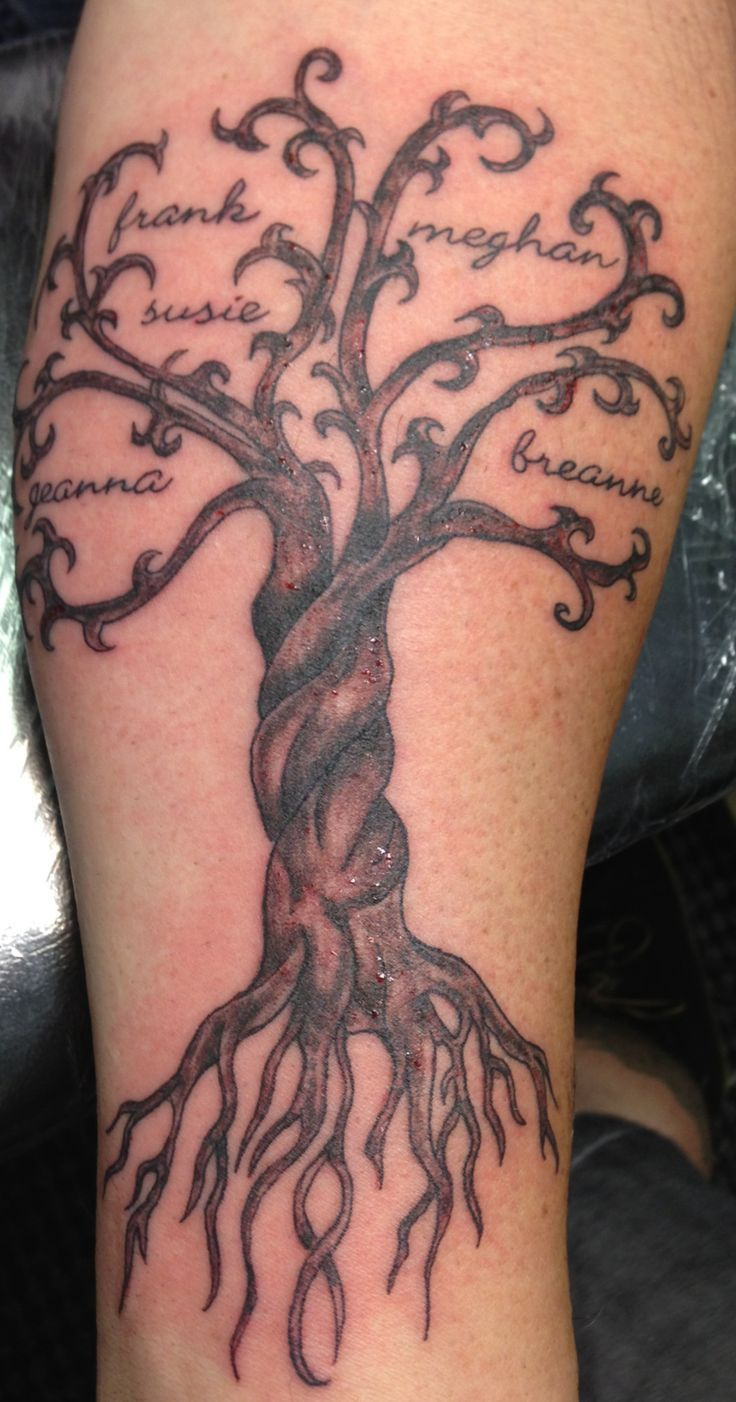 50 Tree Tattoo Designs For Men And Women Ink Me Ba One More Time for measurements 736 X 1402