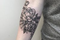 53 Attractive Peony Tattoos Ideas intended for proportions 1080 X 1080