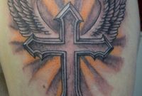 56 Best Cross Tattoos For Men Improb with regard to proportions 791 X 1023