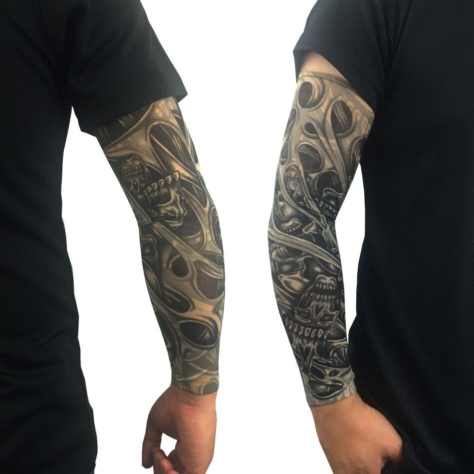 5pcs Nylon Stretchy Temporary Tattoo Sleeves Arm Stockings Sunscreen pertaining to dimensions 950 X 950