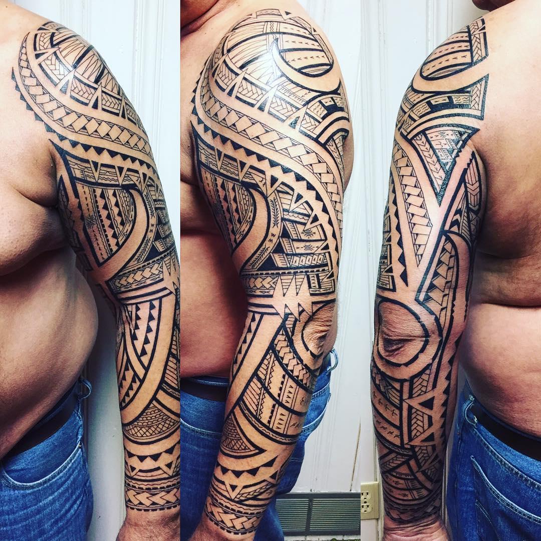 60 Best Samoan Tattoo Designs Meanings Tribal Patterns 2018 regarding proportions 1080 X 1080