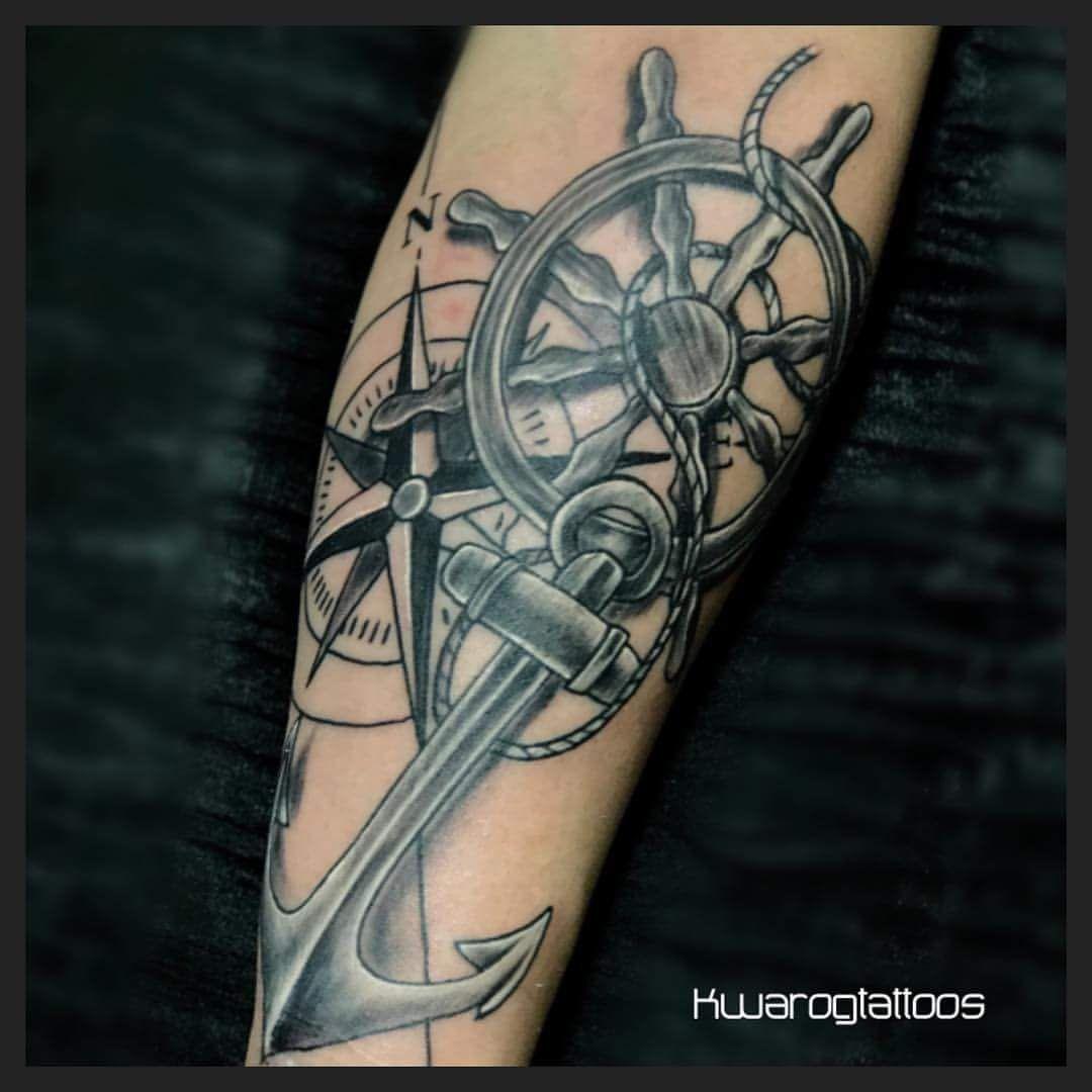Lower Arm Nautical Tattoos • Arm Tattoo Sites