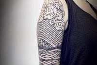 65 Remarkable Wave Tattoo Designs The Best Depiction Of The Ocean for dimensions 1080 X 1030