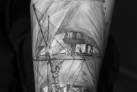 66 Pirate Ship Tattoos Ideas within sizing 2592 X 3888