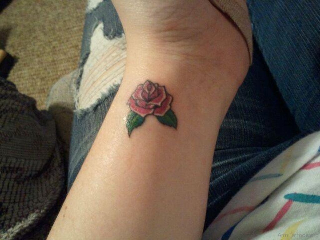75 Lovely Rose Tattoo On Arm in measurements 1024 X 768