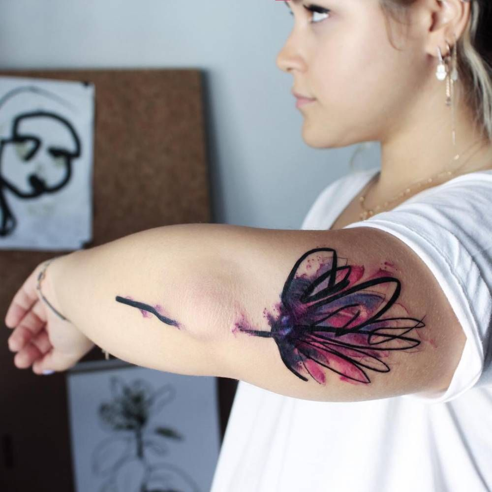 Lotus Flower Tattoo Back Of Arm Arm Tattoo Sites