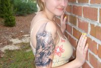 All World Fashion New And Cricket Updates Upper Arm Tattoos For Girls intended for proportions 768 X 1024