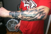 American Flag Forearm Tattoos 1000 Images About Tattoos On pertaining to measurements 2592 X 1936