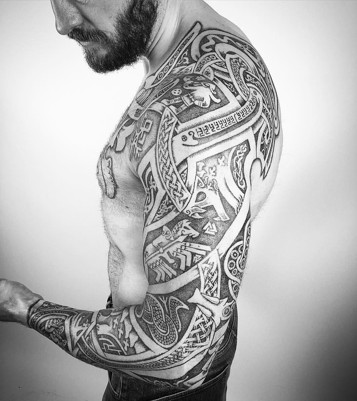 Celtic Arm Tattoos Sleeve Arm Tattoo Sites