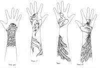 Arm Tattoo Designs Lomelindi88 On Deviantart regarding sizing 1500 X 675
