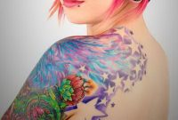 Arm Tattoo Ideas Women Shoulder Tattoos For Arms Colorful Upper pertaining to sizing 1048 X 786
