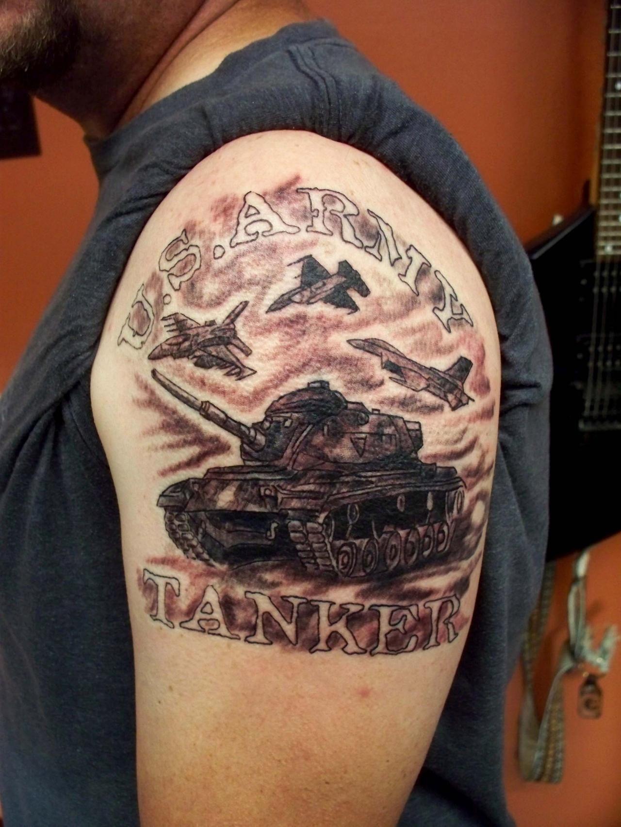 Army Arm Tattoos • Arm Tattoo Sites