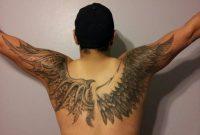 Bat Wings Tattoo Design On Upper Back Tattoo Ideas for sizing 1024 X 768