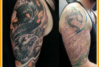 Best Upper Arm Tattoo Sleeve Ideas Cover Up Pict Of On Trend And pertaining to measurements 1074 X 966