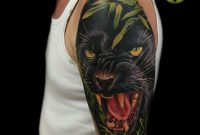 Black Panther Tattoo On Arm Tattoo Toroktattooart Blackpanther pertaining to proportions 3543 X 3543