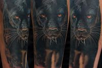 Black Panther Tattoo On Right Sleeve Gunnarv in measurements 960 X 960