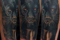 Black Panther Tattoo On Right Sleeve Gunnarv regarding proportions 960 X 960