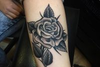 Black Rose Tattoo On Forearm Samuele Briganti regarding sizing 960 X 960