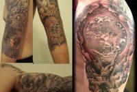 Broken Glassgreek Mythology Sleeve Tattoo P Krol Of Krol Body within size 1451 X 1200