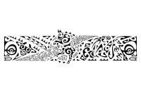 Bull Armband Tattoo Pe Polynesian Tattoos Picture 1621 Tattoo in size 1024 X 1024