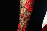 Candy Skull Roses Filigree Yeahtattoos with size 1024 X 1024